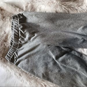 Zara TRF Grey Loose Flared Pants